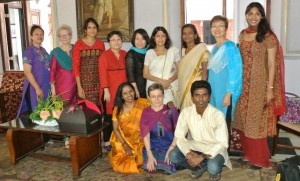 Meeting HH Princess Aswathi Thirunal Gouri Lakshmi Bayi