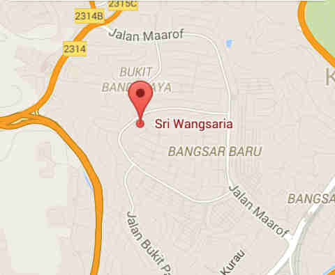 Bangsar Location
