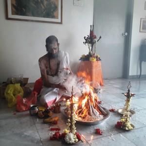Shanti Homa 27.04.2020