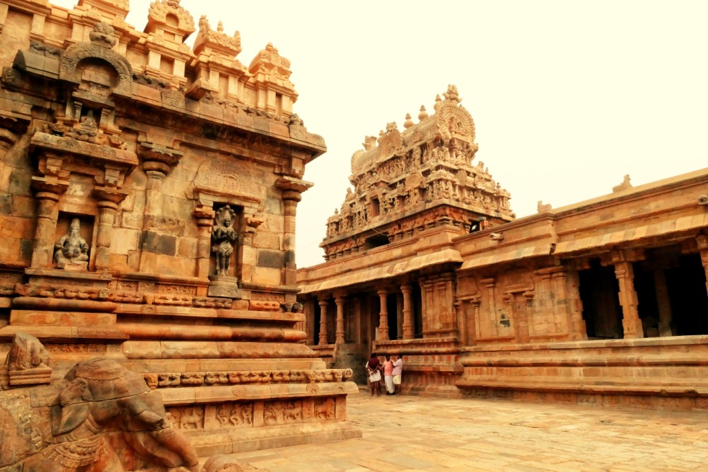 Airavatesvara Temple Darasuram built by Rajaraja II, grandson of Rajaraja I