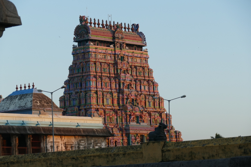 Tillai Nataraj Temple, Chidambaram,  Centre of the Universe