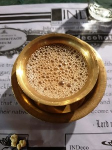 Decree Coffee - a must when in Kumbakonam